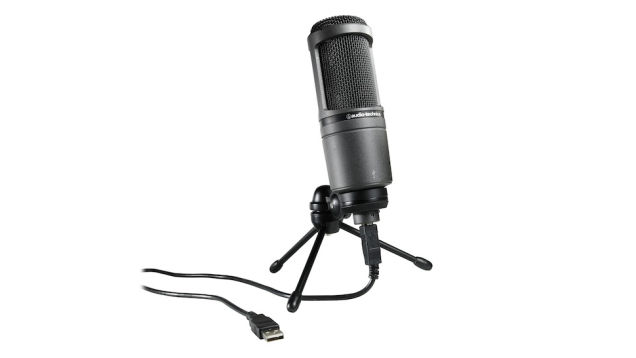 desktop microphones Audio-Technica-AT2020