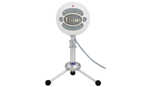 desktop microphones Blue Snowball