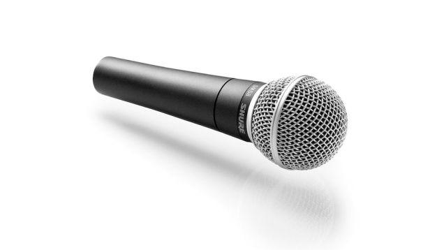 desktop microphones Shure SM-58