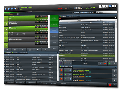 RadioDJ FREE radio automation software