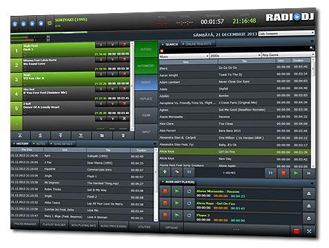 RadioDJ FREE radio automation software